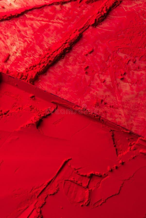 vue élevée du rouge photographie stock libre de droits