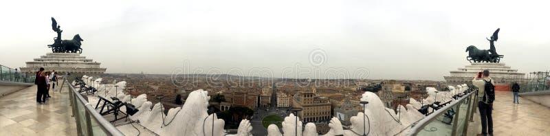 Vue étonnante à Rome photographie stock libre de droits