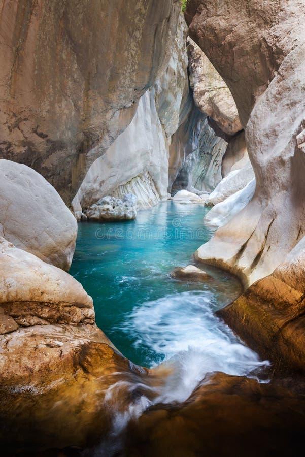 Vue étonnante de canyon de Goynuk photo libre de droits