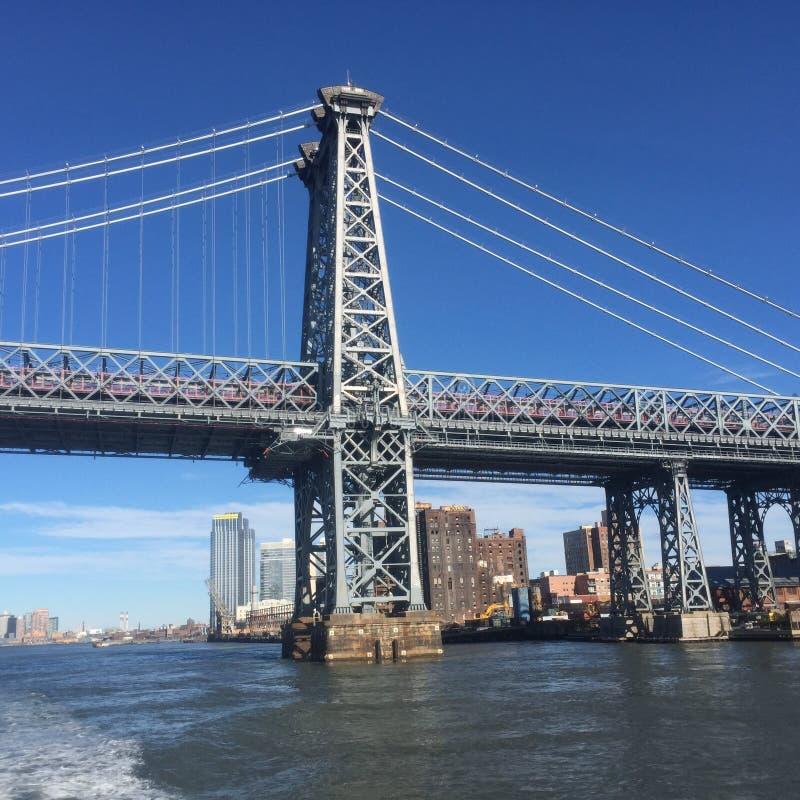 Vue étonnante de New York City image libre de droits