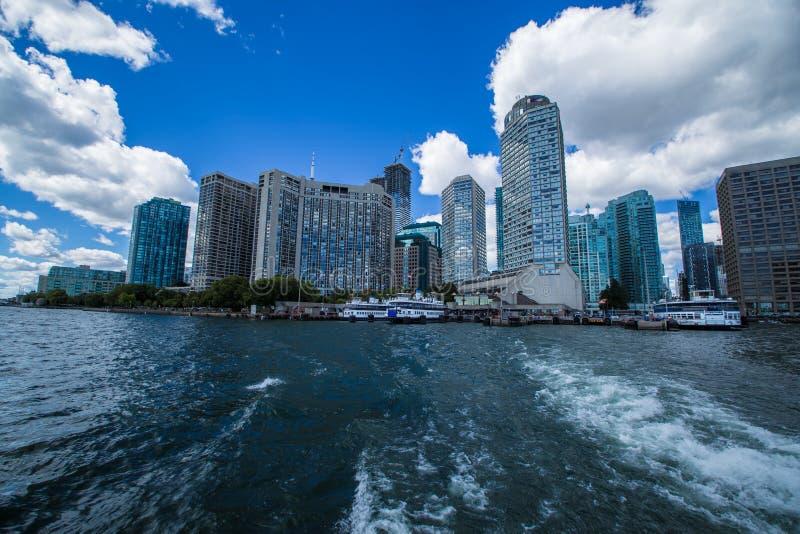 Vue étonnante de ville de Canada de Toronto Ontario photo libre de droits