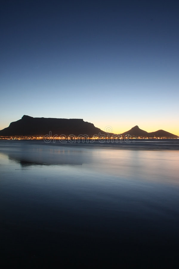 Vue 1 de Capetown photo stock