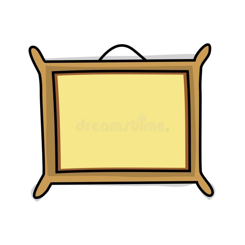 Vue illustration de vecteur