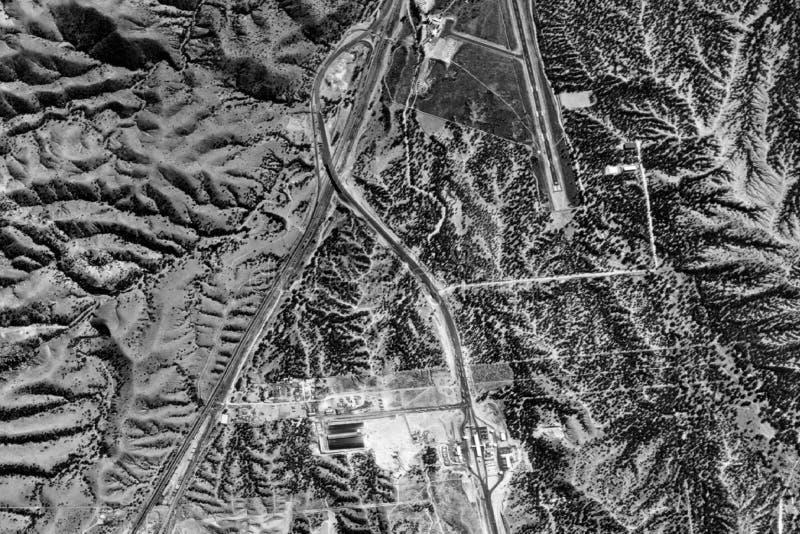 Download Vue aérienne photo stock. Image du plan, montagnes, lacs - 71416