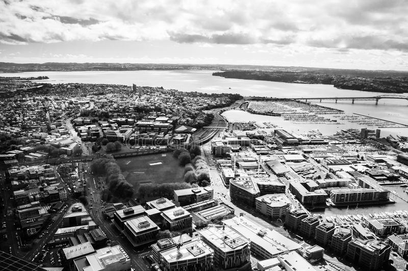 Vue aérienne Auckland photos stock