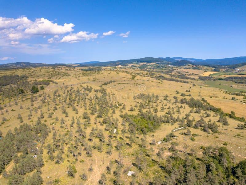 Vue aérienne Cévennes photo stock