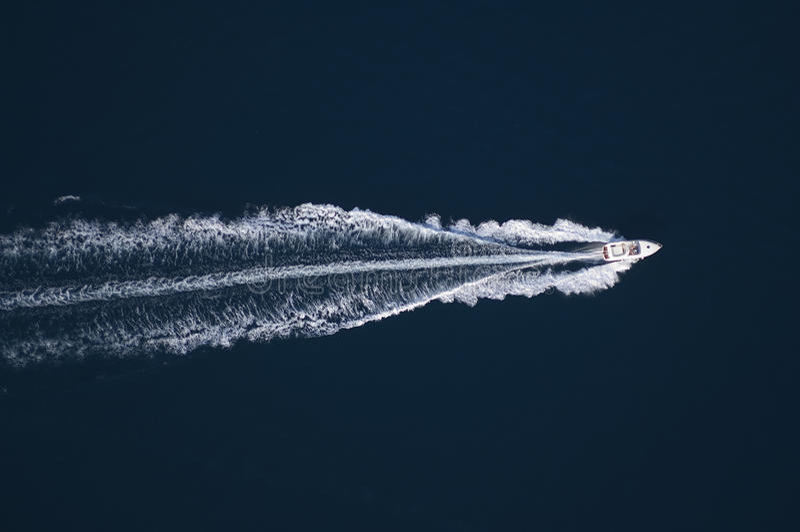 Vue aérienne - Croatie - Istria - Vrsar image stock