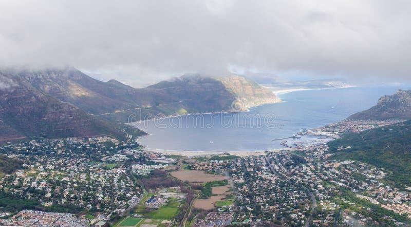 Vue aérienne d'†«Afrique du Sud de Cape Town images stock
