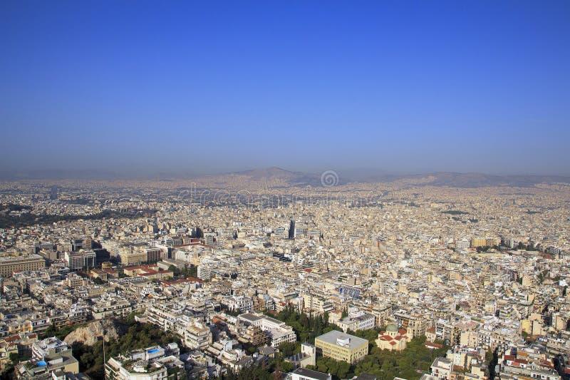 Vue aérienne d'Athènes, Grèce Athènes est la capitale de la Grèce photos libres de droits