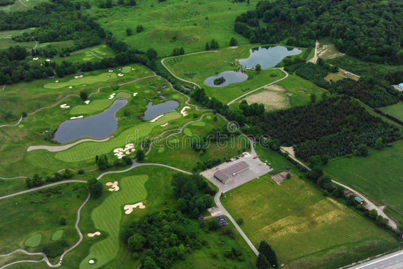 Vue aérienne d'Ontario du sud photos stock