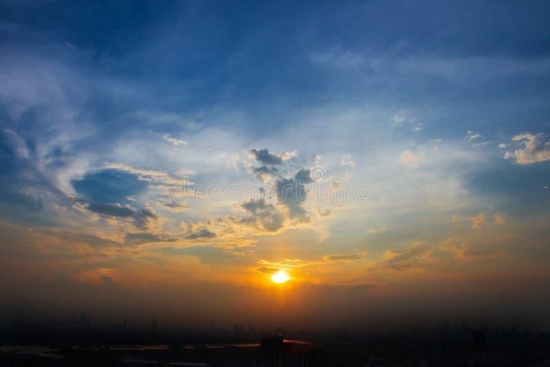 Vue aérienne de Bangkok photo stock