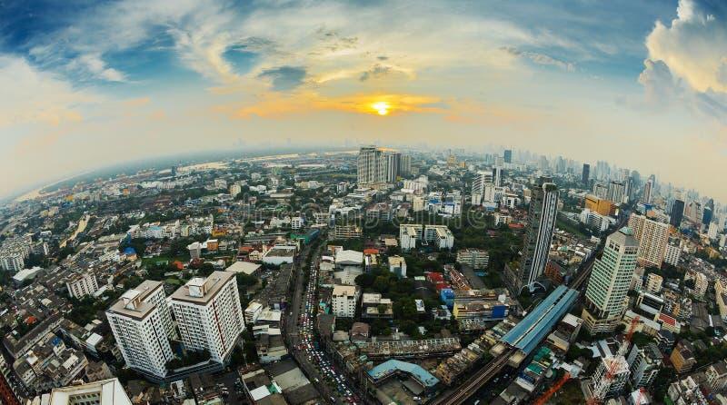 Vue aérienne de Bangkok image stock