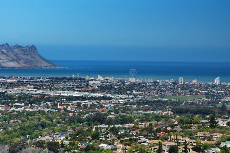 Vue aérienne de brin, Afrique du Sud photo stock
