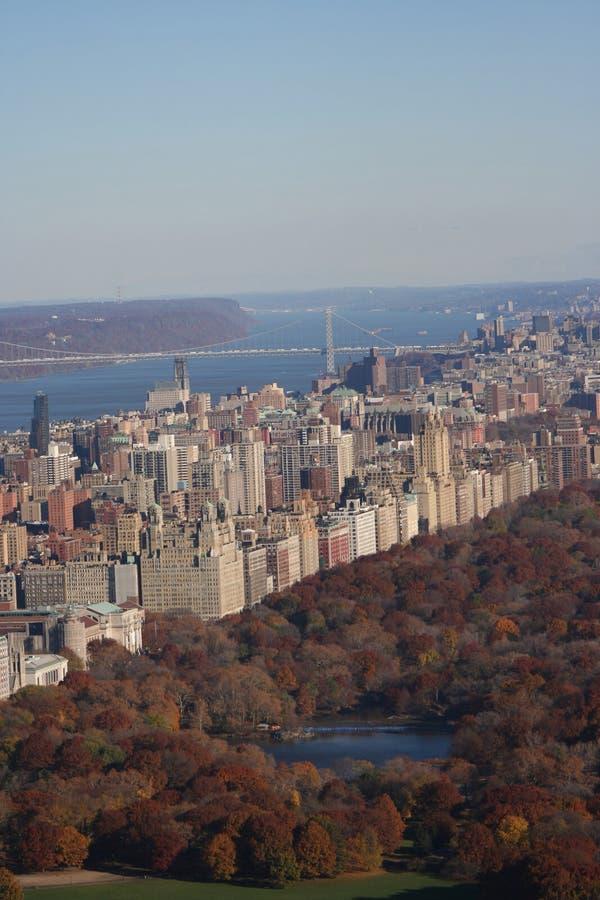 Vue aérienne de côté Ouest supérieur image stock