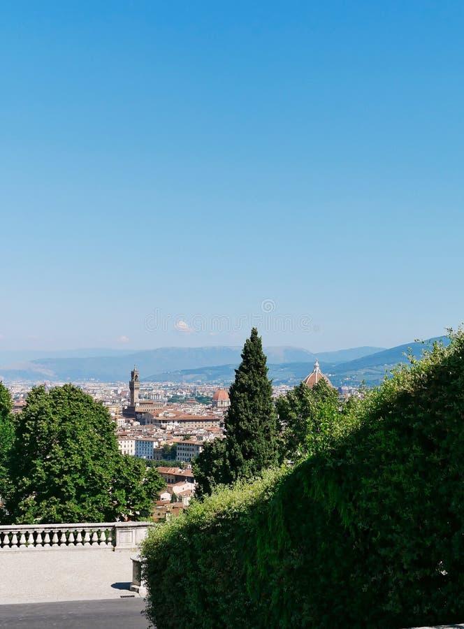 Vue aérienne de Florence photographie stock