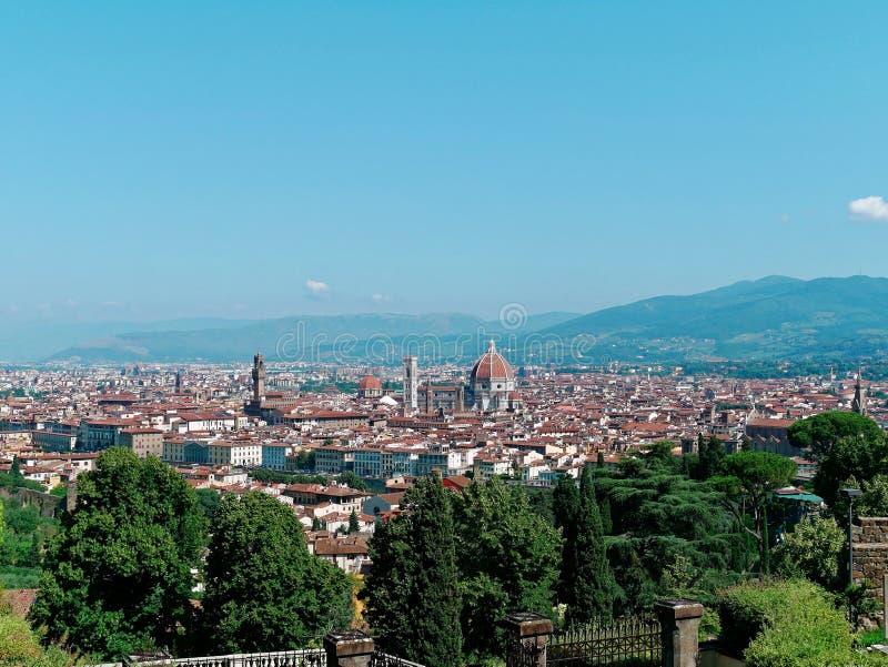 Vue aérienne de Florence photos libres de droits
