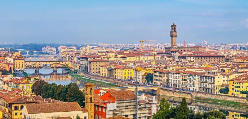 Vue aérienne de Florence photographie stock libre de droits
