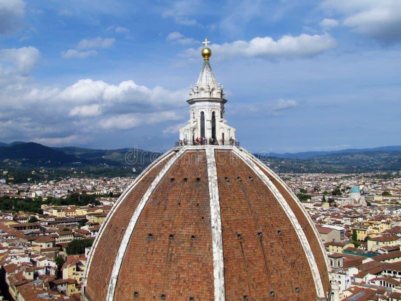 Vue aérienne de Florence de Duomo - Italie photographie stock