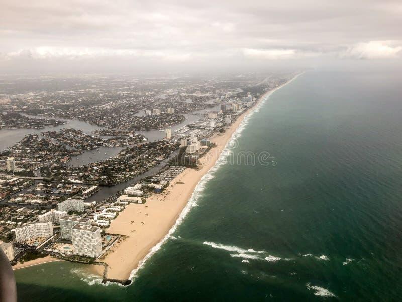 Vue aérienne de la Floride photo libre de droits