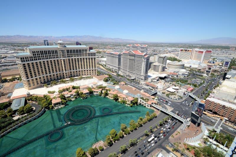 Vue aérienne de Las Vegas photo libre de droits