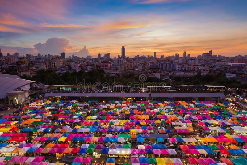 Vue A Ef Bf Bdrienne De Centre Ville Bangkok
