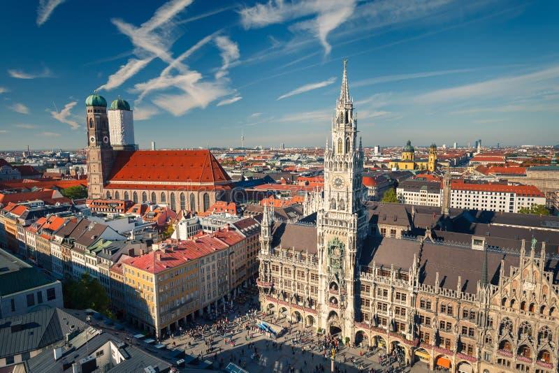 Vue aérienne de Munchen photo stock