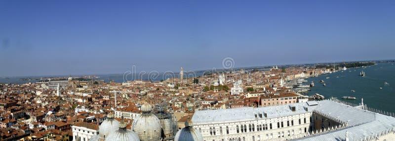 Vue aérienne de Venise photo stock