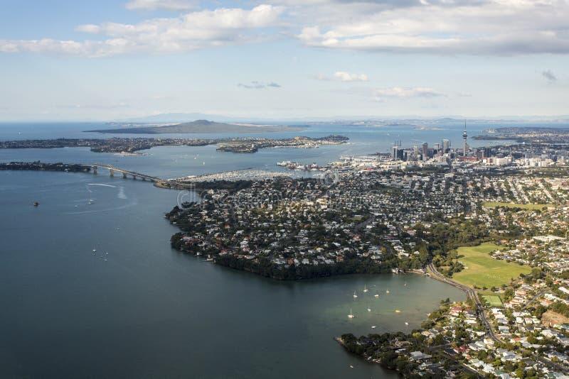 Ville d'Auckland photographie stock libre de droits