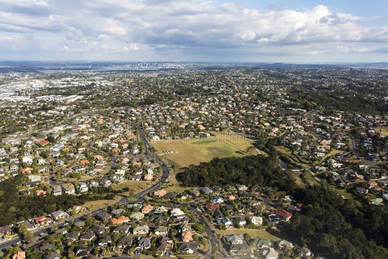 Ville d'Auckland image libre de droits