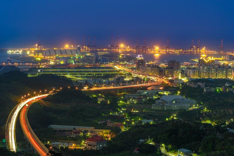 Vue aérienne de ville de Taïpeh image libre de droits