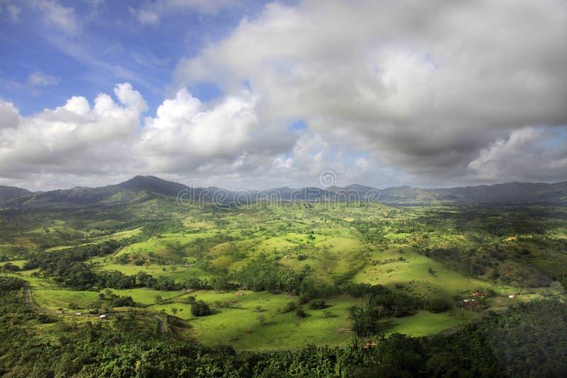 Vue aérienne des Cordillères image stock
