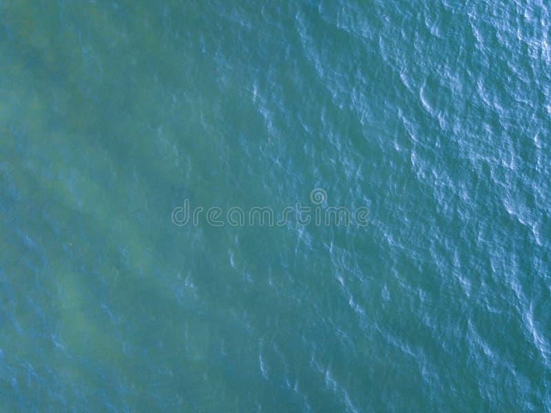 Vue aérienne extérieure de mer photo libre de droits