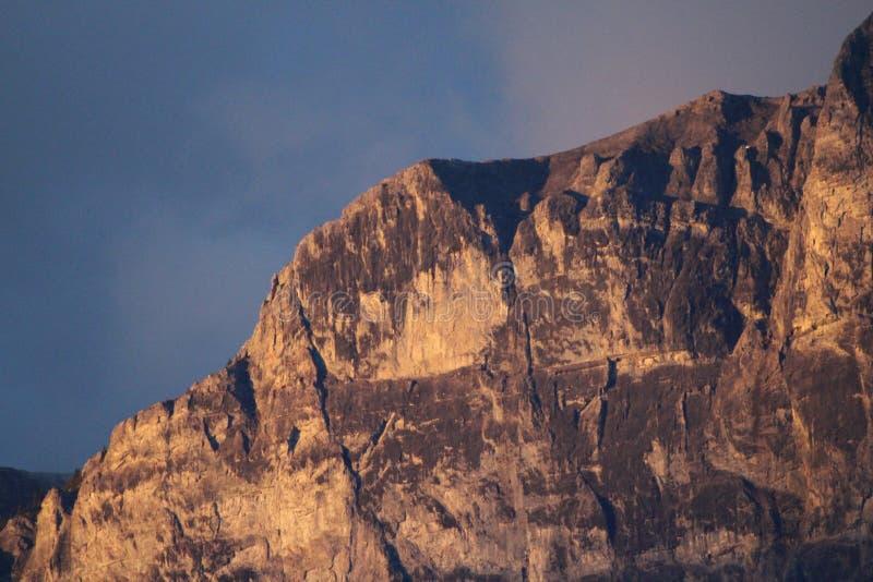 Vue alpine élevée photographie stock