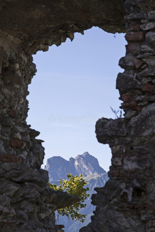 Vue alpine photo libre de droits