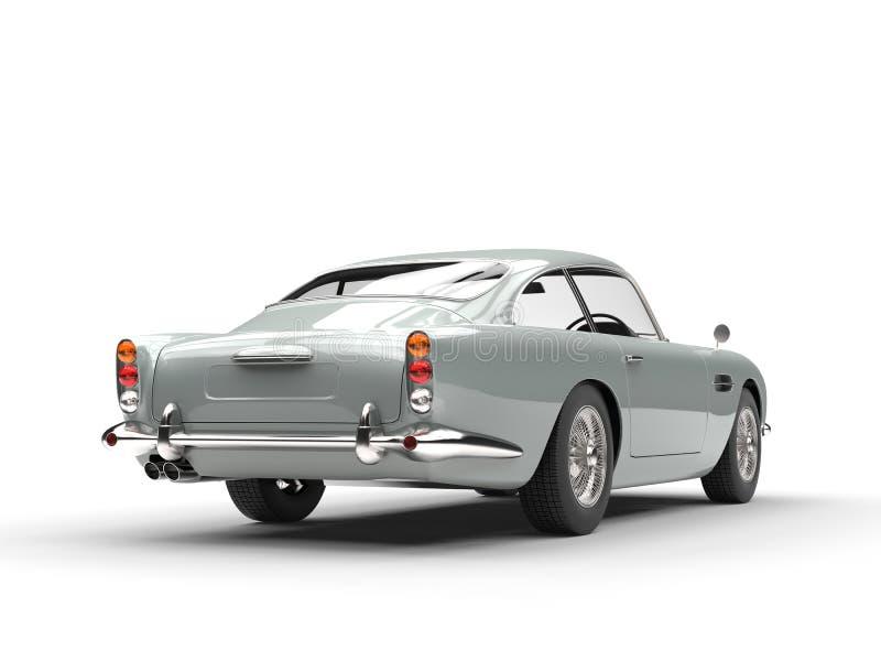 Vue arrière automobile de vintage illustration libre de droits