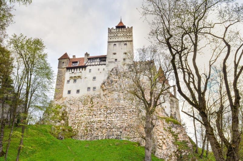 Vue au château de son, Roumanie images stock