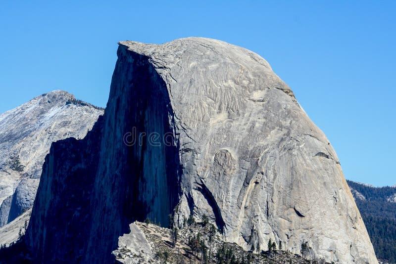 Vue au-dessus de demi dôme de point de glacier image stock