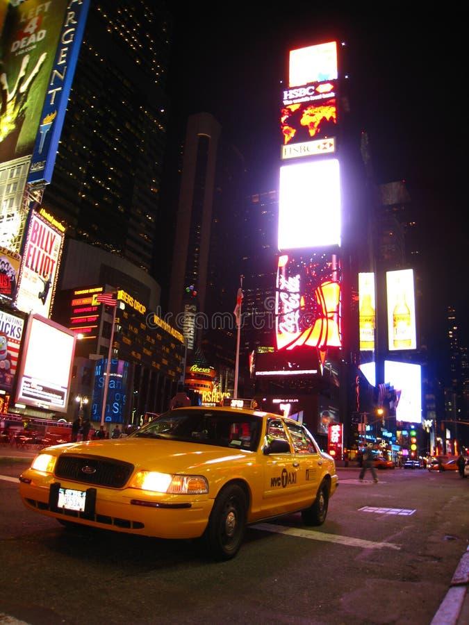 vue carrée de temps de nuit photos libres de droits