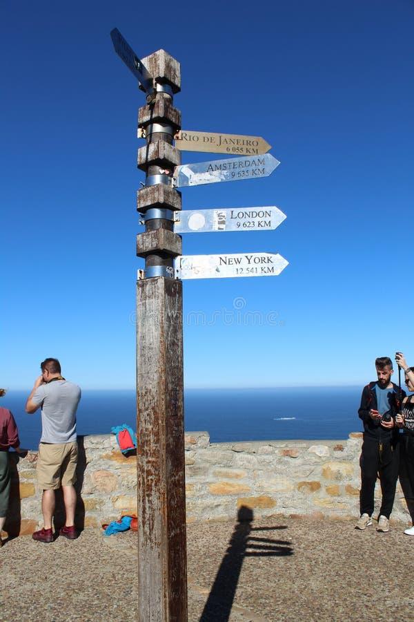 Vue chez le Cap de Bonne-Espérance photographie stock
