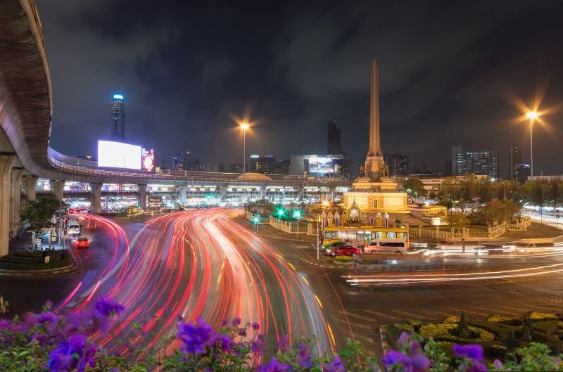 Vue crépusculaire chez Victory Monument images stock