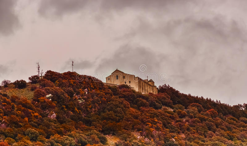 Vue d'église photos libres de droits