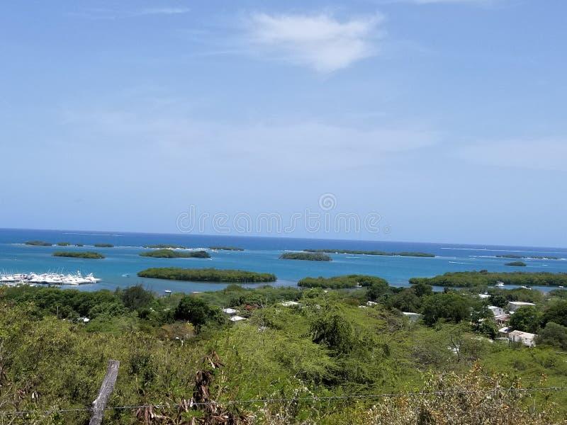 Vue d'île image stock