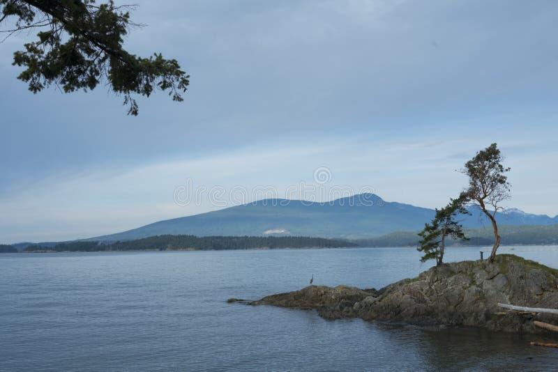Vue d'île de Bowen images libres de droits