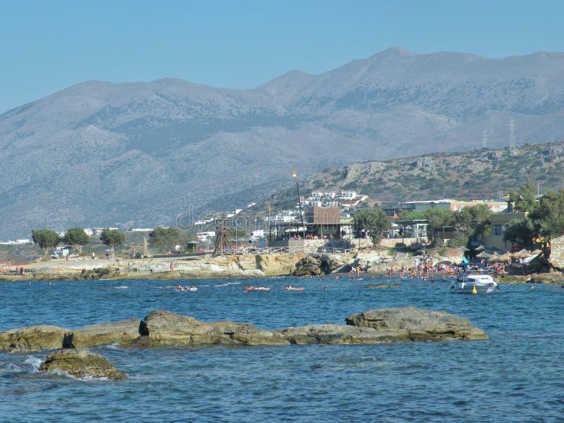 Vue d'île de Crète, Grèce photos stock