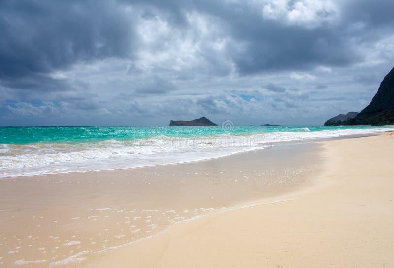 Vue d'île de Manana images libres de droits