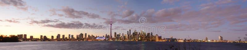 Vue d'île de Toronto images stock