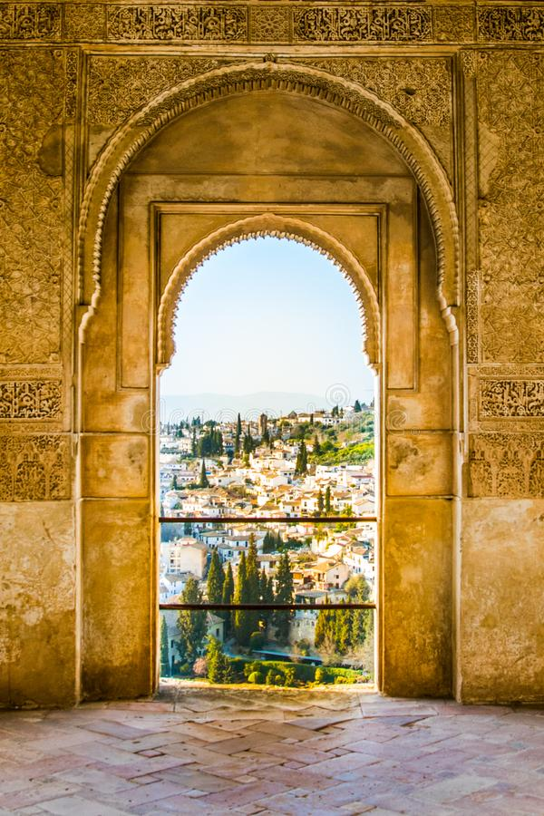 vue d'alhambra photos stock