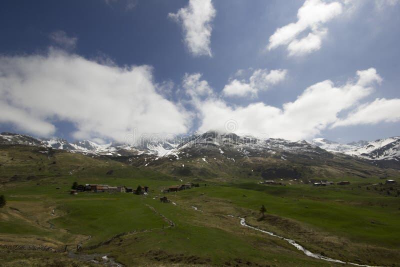 Vue d'Alp Flix photos libres de droits