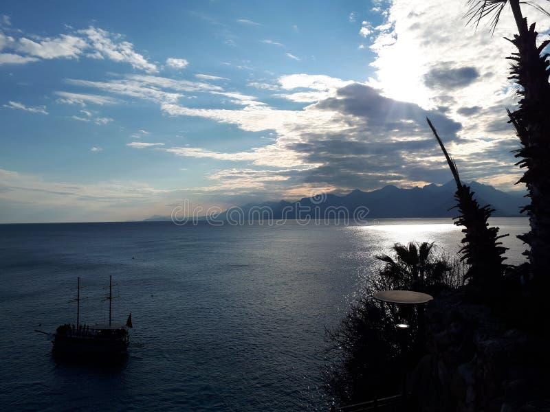 Vue d'Antalya photo stock