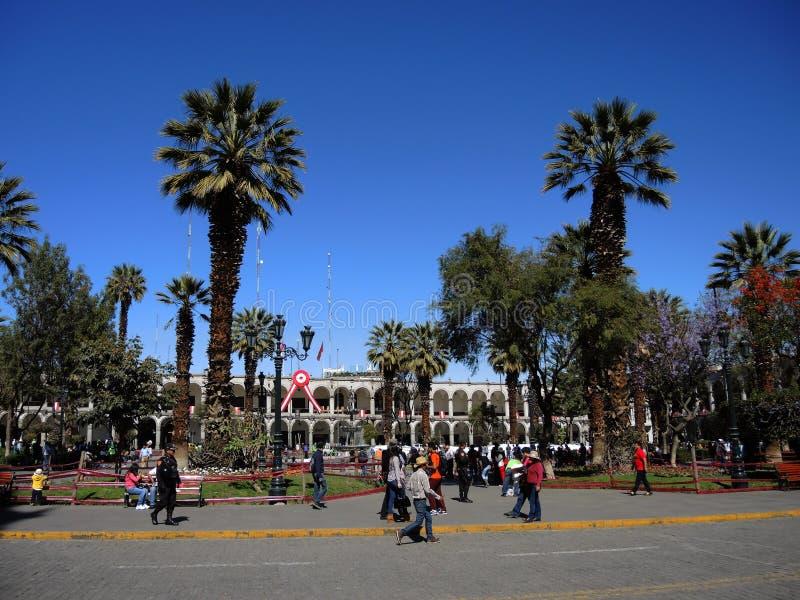 Download Vue d'Arequipa, Pérou photo éditorial. Image du arequipa - 77161471